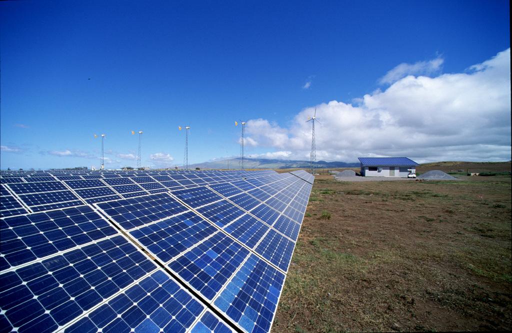 太阳能电板